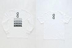 SUPERTHANKSのTシャツ。以前Perfumeのライブグッズとして販売された「きみはイケメン=きみイケ」をイメージした黒縁メガネがデザインされている。