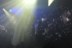 12月2日に東京・ニコファーレで行われたシングル「イタズラなKiss と ラブソング。」リリースパーティの様子。(Photo by MASA)