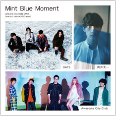 「Mint Blue Moment」告知画像