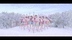虹のコンキスタドール「ふたりのシュプール」ミュージックビデオのワンシーン。