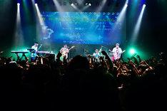 「入院ツアー」12月3日の東京・TSUTAYA O-EAST公演の様子。