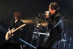SUGIZOとRYUICHI。(撮影:田辺佳子)