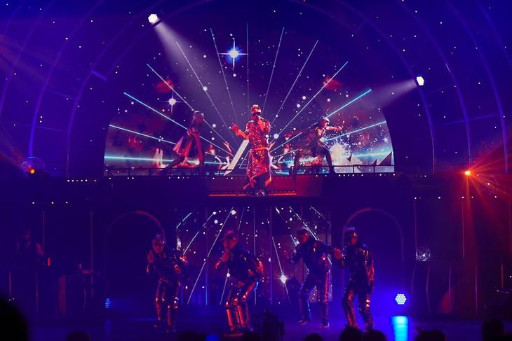 「LIVE TOUR 2017 遊助祭『星』~あの・・星に願いを込めたんですケド。~」より。