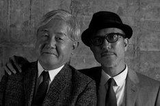 THE BEATNIKS。左から鈴木慶一、高橋幸宏。