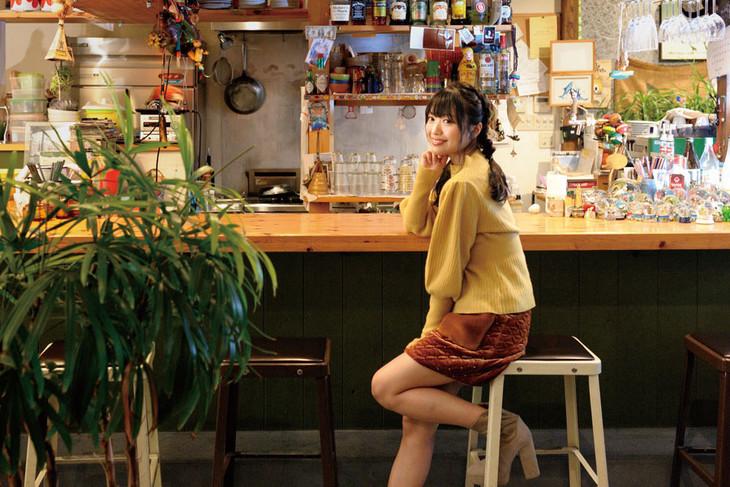 「月刊新潟WEEK!」取材時の北原里英(NGT48)。
