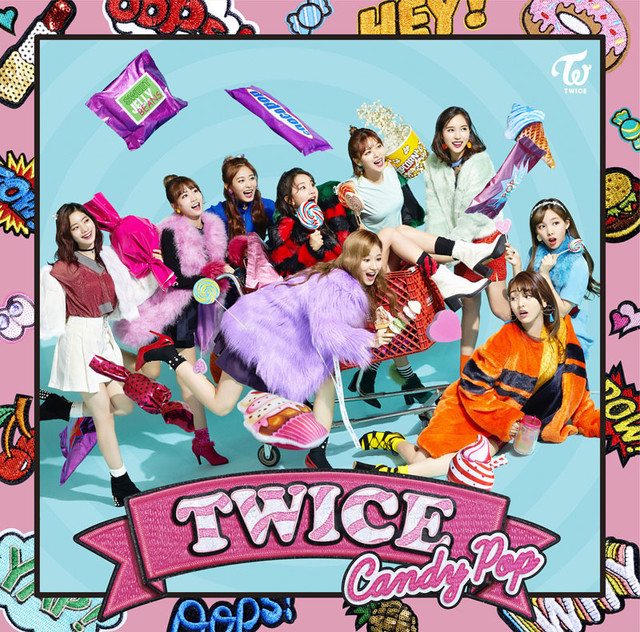 TWICE「Candy Pop」ONCE JAPAN盤ジャケット