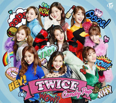 TWICE「Candy Pop」初回限定盤Aジャケット