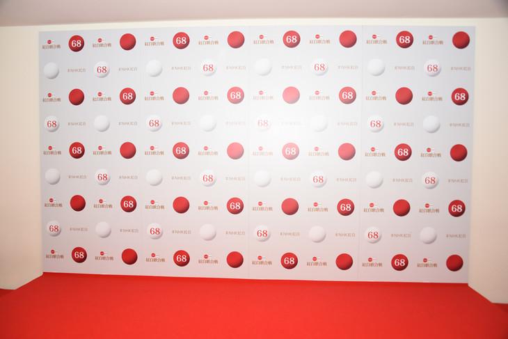 「第68回NHK紅白歌合戦」取材会場の様子。