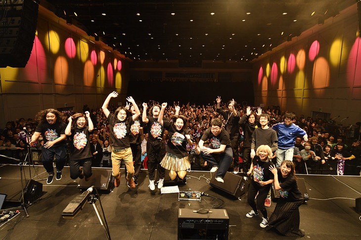 「のん、KAIWA フェス Vol.1 ~音楽があれば会話が出来る!~」の様子。(写真提供:MICE ENTERTAINENT INC.)