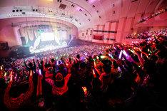 「ゆく桃くる桃 ~第1回 ももいろ歌合戦~」の様子。(Photo by HAJIME KAMIIISAKA)