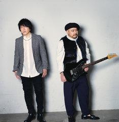 SURFACE。左から椎名慶治、永谷喬夫。
