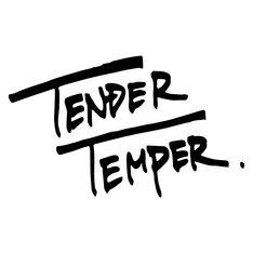 TENDER TEMPERロゴ