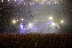 "「MONGOL800 ga COUNTDOWN ""Happy 20th ANNIVERSARY""」の様子。(撮影:武安弘毅)"