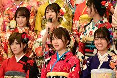 AKB48グループ成人式の様子。
