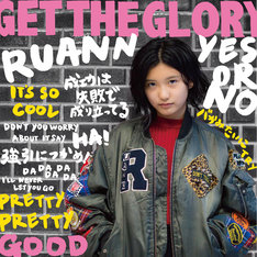 RUANN「GET THE GLORY」配信ジャケット