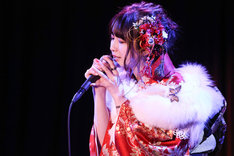 1月8日に行われた金子理江成人記念イベントの様子。