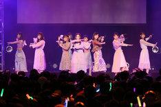 「SKE48 22ndシングル『無意識の色』発売記念ミニライブ」の様子。(c)AKS