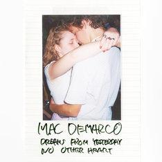 「『DUM-DUM SPLIT』シリーズ第5弾:Mac DeMarco(マック・デマルコ)×トリプルファイヤー」ジャケット(マック・デマルコ面)
