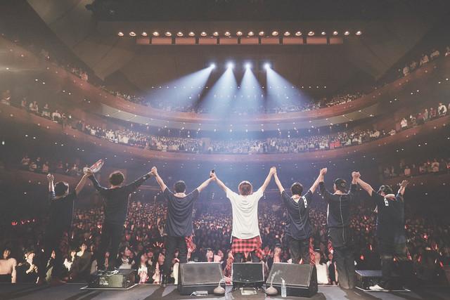天月-あまつき-「やりたい放題ホールツアー Winter2017~2018」最終公演の様子。(Photo by Tatsuya Kawasaki)
