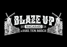 「BLAZE UP NAGASAKI 2018 in HUIS TEN BOSCH」ロゴ