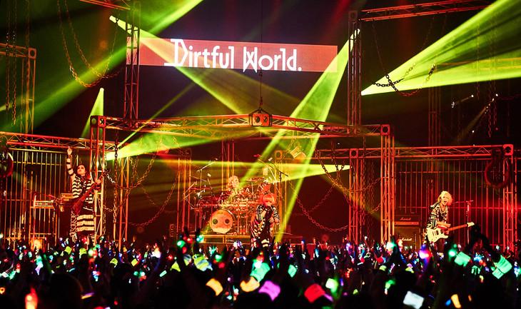 1月13日の東京・Zepp DiverCity TOKYO公演の様子。(Photo by Keiko Tanabe)