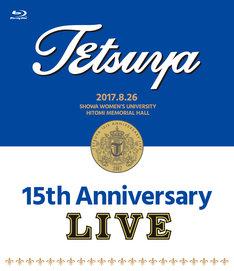TETSUYA「15th ANNIVERSARY LIVE」Blu-rayジャケット