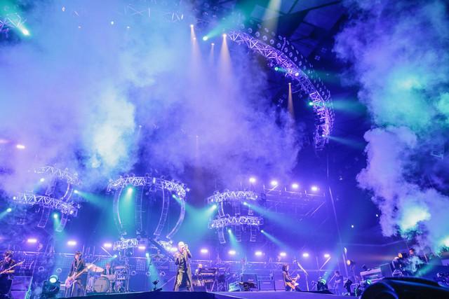 "「KIKKAWA KOJI LIVE 2018 ""Live is Life""」の様子。(撮影:平野タカシ)"