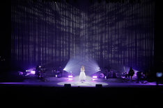 "「Aimer LIVE TOUR 17/18 ""hiver""」大阪・フェスティバルホール公演の様子。(写真提供:SME Records)"