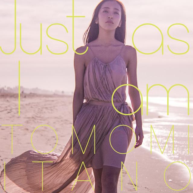 板野友美「Just as I am」通常盤ジャケット