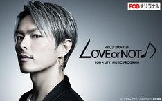 フジテレビ「LOVE or NOT♪」ビジュアル