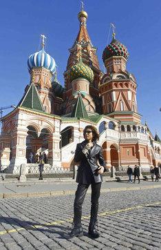 ロシアにいるYOSHIKI。