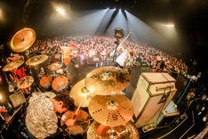 04 Limited Sazabys「Squall tour」東京・Zepp Tokyo公演2日目の様子。(Photo by Viola Kam[V'z Twinkle])