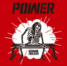 HER NAME IN BLOOD「POWER」ジャケット