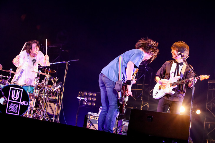 UNISON SQUARE GARDEN(Photo by Viola Kam[V'z Twinkle])