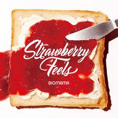 BIGMAMA「Strawberry Feels」初回限定盤ジャケット