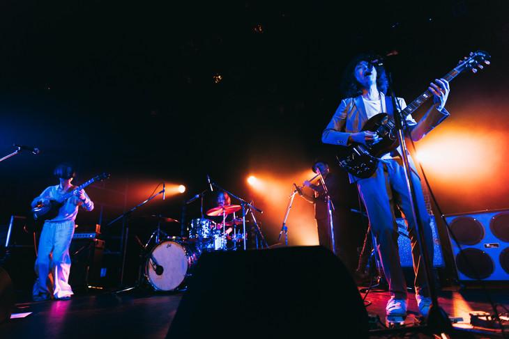 1月29日に行われた坂本慎太郎「坂本慎太郎LIVE 追加公演」の様子。 (撮影:三田村亮)