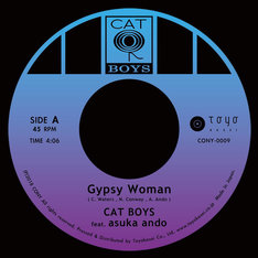 CAT BOYS feat. asuka ando「Gypsy Woman / Day Dreaming」A面イメージ