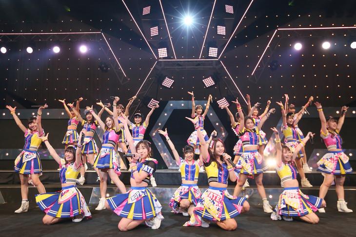 「SKE48 47都道府県全国ツアー ~機は熟した。全国へ行こう!~」新潟公演の様子。(c)AKS