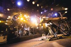 HOWL BE QUIET「Dousite? Tour 2017~2018【追加公演】」東京・渋谷CLUB QUATTRO公演の様子。(撮影:山川哲矢)