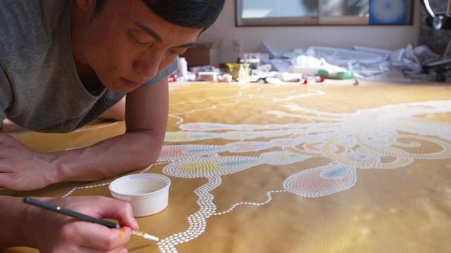 手塚治虫「火の鳥」の新たな表現に挑むGOMA。(写真提供:NHK)