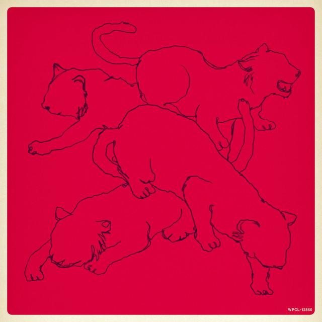 パスピエ「ネオンと虎」初回限定盤ジャケット