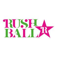 「RUSH BALL☆R」ロゴ