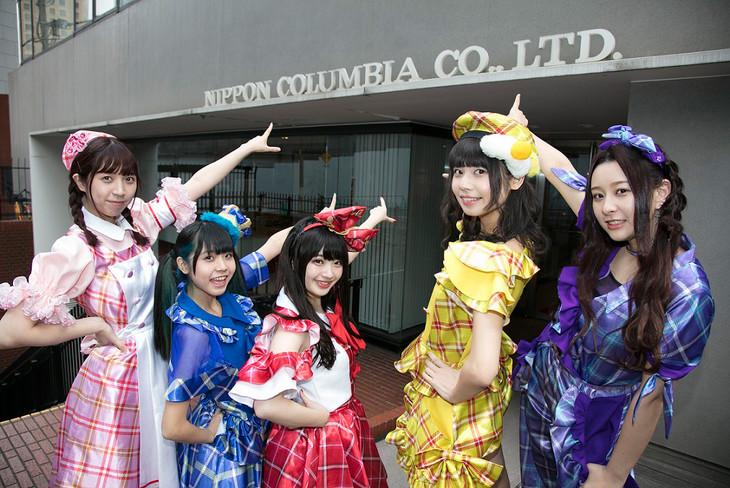 日本コロムビア本社を訪問するベボガ!。