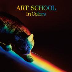 ART-SCHOOLL「In Colors」特典ステッカーのイメージ画像。
