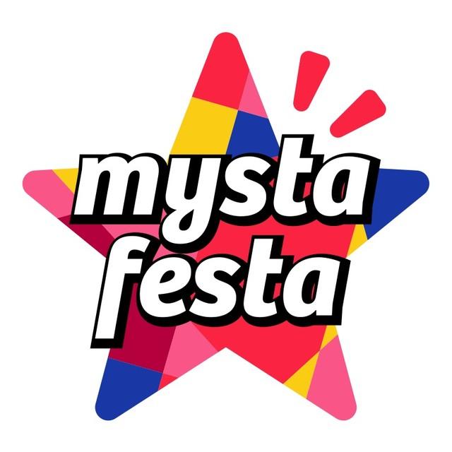 「mysta festa」ロゴ