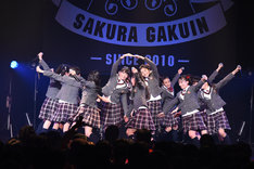 さくら学院「The Road to Graduation 2017 ~Sakura de Sacas~」の様子。