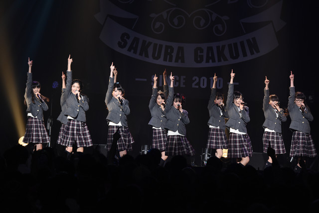さくら学院「The Road to Graduation 2017 ~Sakura de Sacas~」の様子。