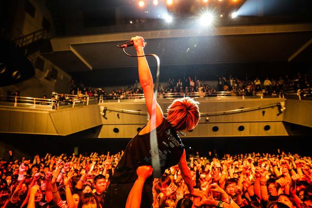 TOTALFATのライブの様子。(撮影:渡邉一生)