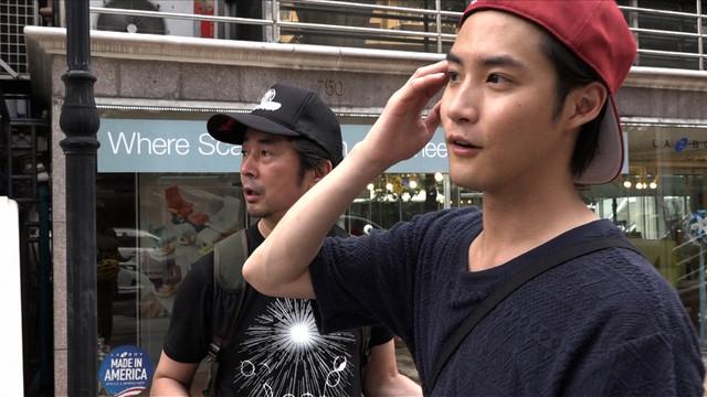 増子直純(怒髪天)と白石隼也。(写真提供:NHK)