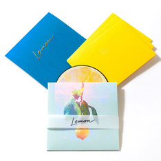 米津玄師「Lemon」レモン盤商品写真。